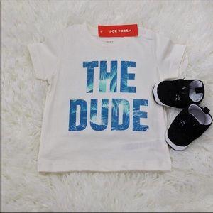 👶🏻 Joe Fresh Graphic T-shirt. Brand New